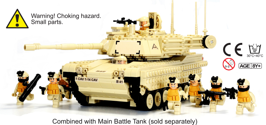 Infantry with Tank